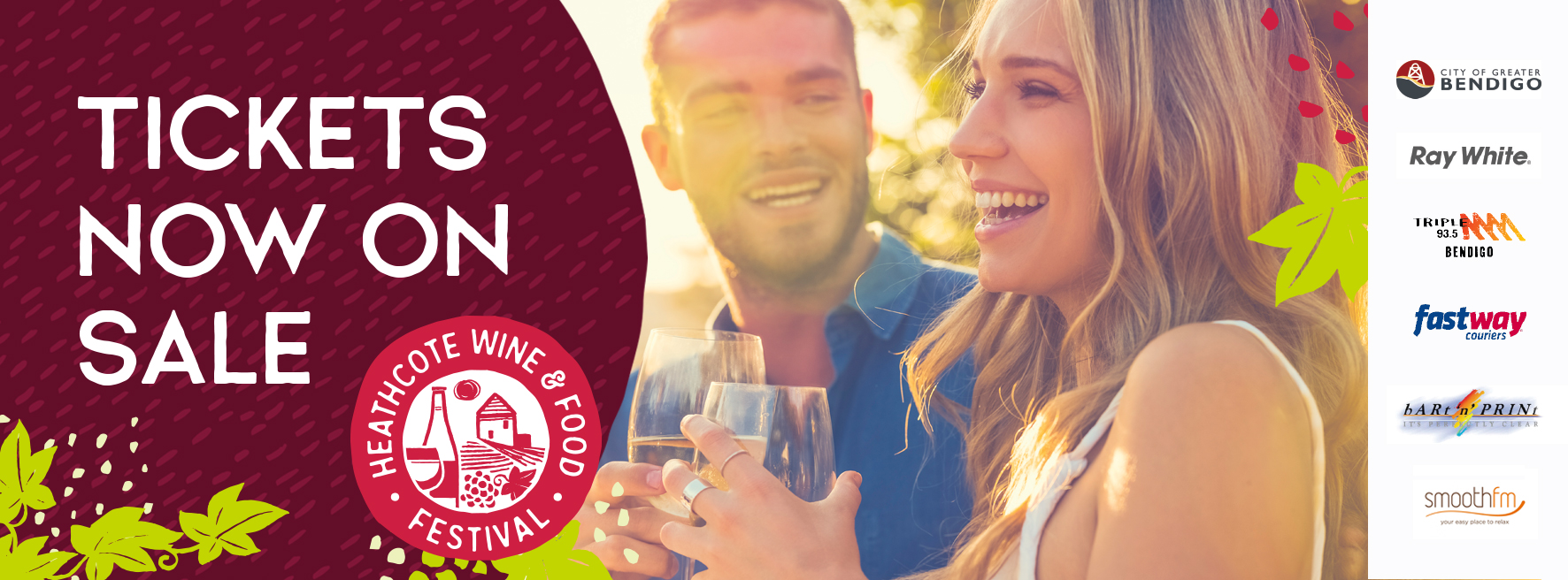 Heathcote Wine and Food Festival 2018 Facebook Banner