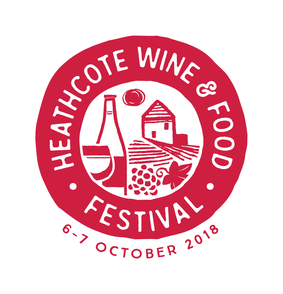 Heathcote Wine and Food Festival Logo 2018